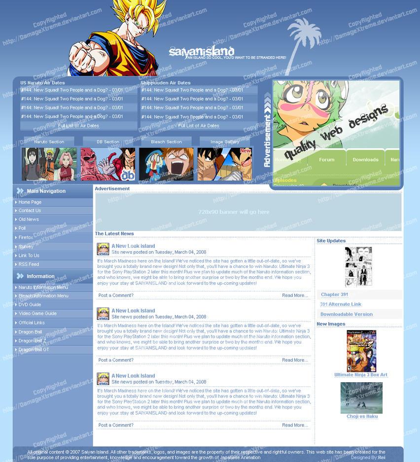 SaiyanIsland v2.2 by DamageXtreme
