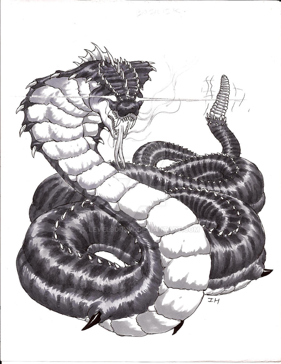 Wyrm, Basilisk by Level9Drow on DeviantArt