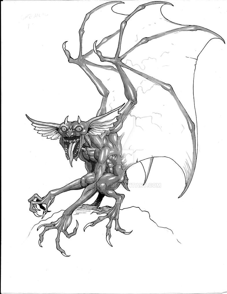 Boggy, Gremlin by Level9Drow