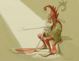 Divine Slurp  sketch by Nickillus