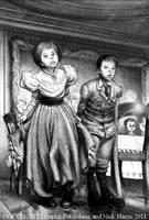 Clumsy Curtsey by Nickillus