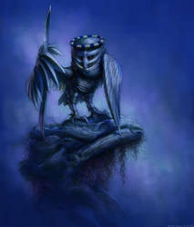 Knight Owl by Nickillus