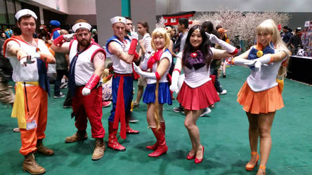 Sailor cosplay and crossplay!