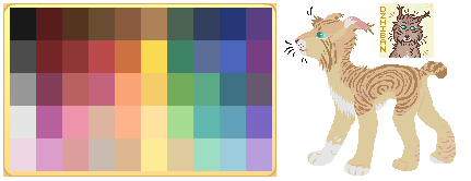 Animal Jam Color Palette Meme - Dzhiban by CorybanticShade