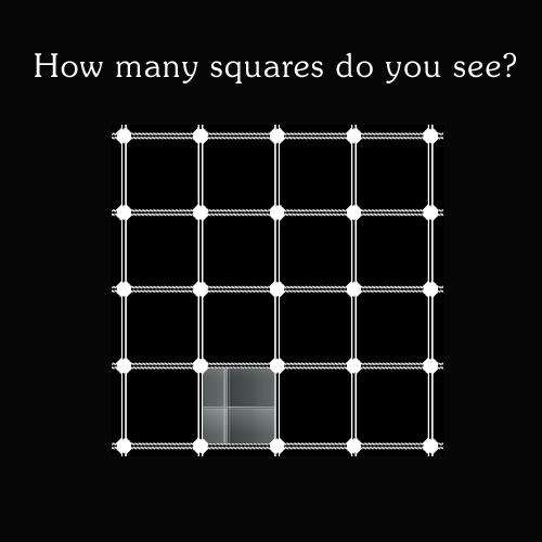 How many squares do yo see? by blizzy123