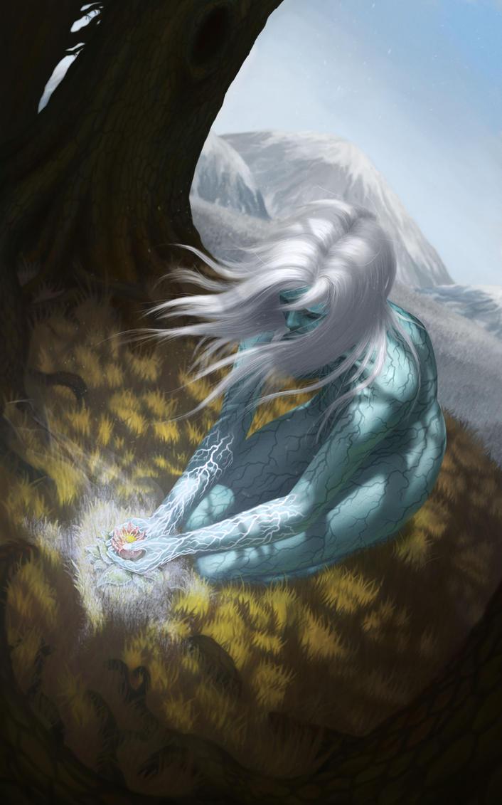 Goddess of Winter by CreativeSketcher