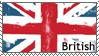 British Flag Stamp