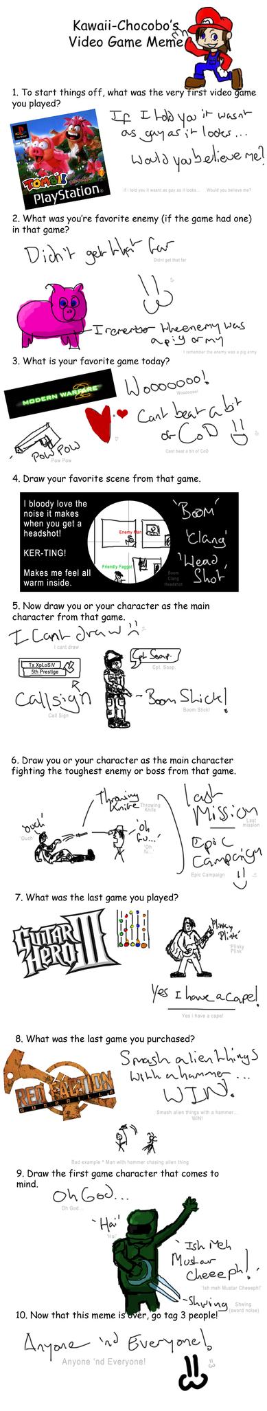 Video Game Meme by rJoyceyy