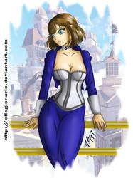 Young Elizabeth by ellegionario