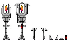 flame staff by thefallenone3296