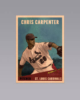 Chris Carpenter Vintage Card