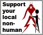 Support your local nonhuman by Essoe