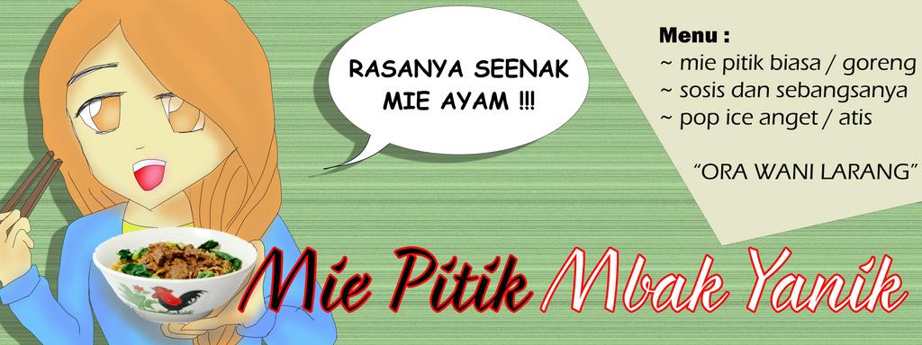 Mie Ayam Banner Design by pucceenie on DeviantArt