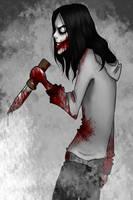 Jeff the killer by Cumiki