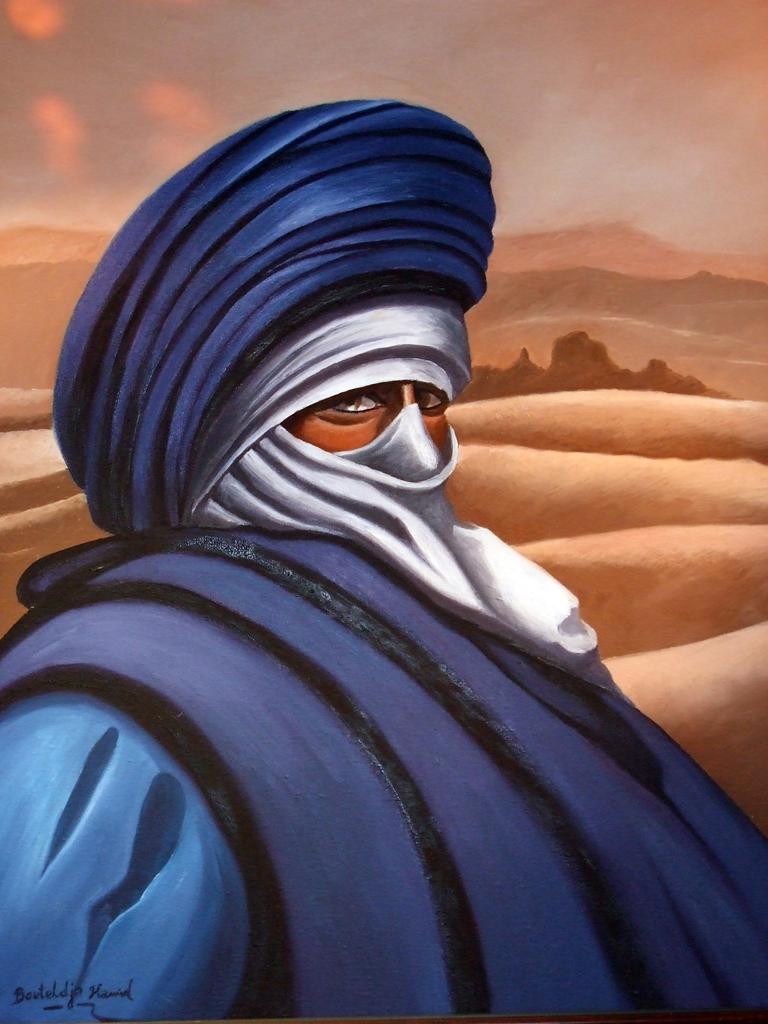 L'homme bleu du desert by elhadibrahimi