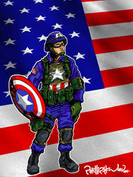 Captian America by Republicans