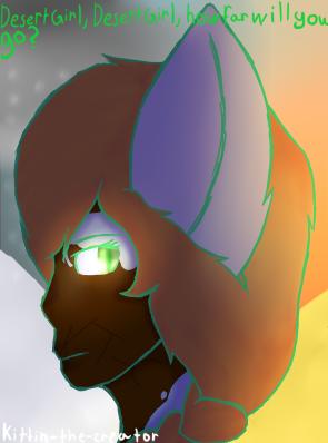 Desert Girl, Desert Girl by Kittin-The-Creator