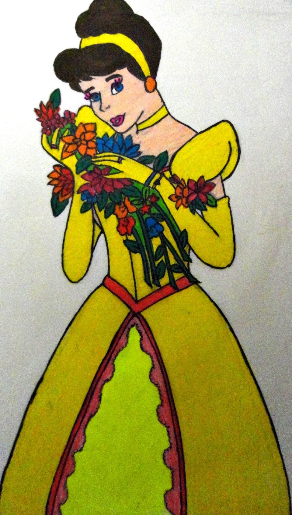 Princesa Desenho Animado Princess Cartoon By Tex And Tathy