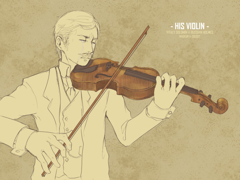 SH - His Violin by orb01