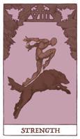 Tarot - Strength (WIP) by Jacinthe