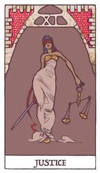 Tarot - Justice (WIP) by Jacinthe