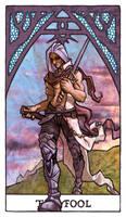Tarot - The Fool by Jacinthe