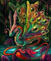 Mystic dragon by bananasjuice