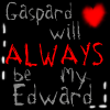 Gaspard will always be Edward by Grrote