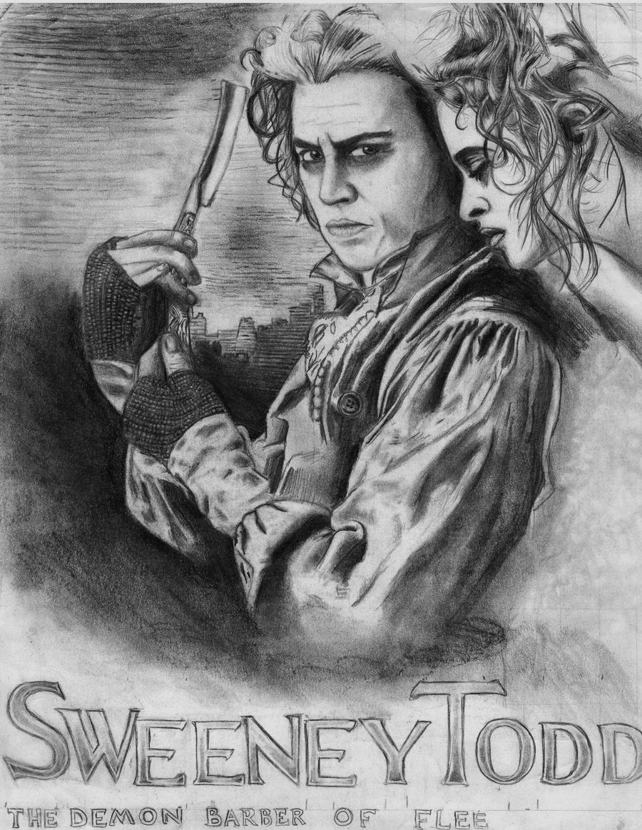Sweeney Todd WIP by blackrose81
