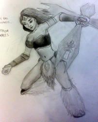 Sivir, the Battle Mistress by InvinciChicken