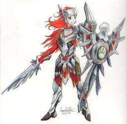 Iron Solari Leona by InvinciChicken