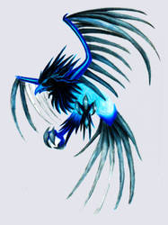 Thunderbird Anivia by InvinciChicken
