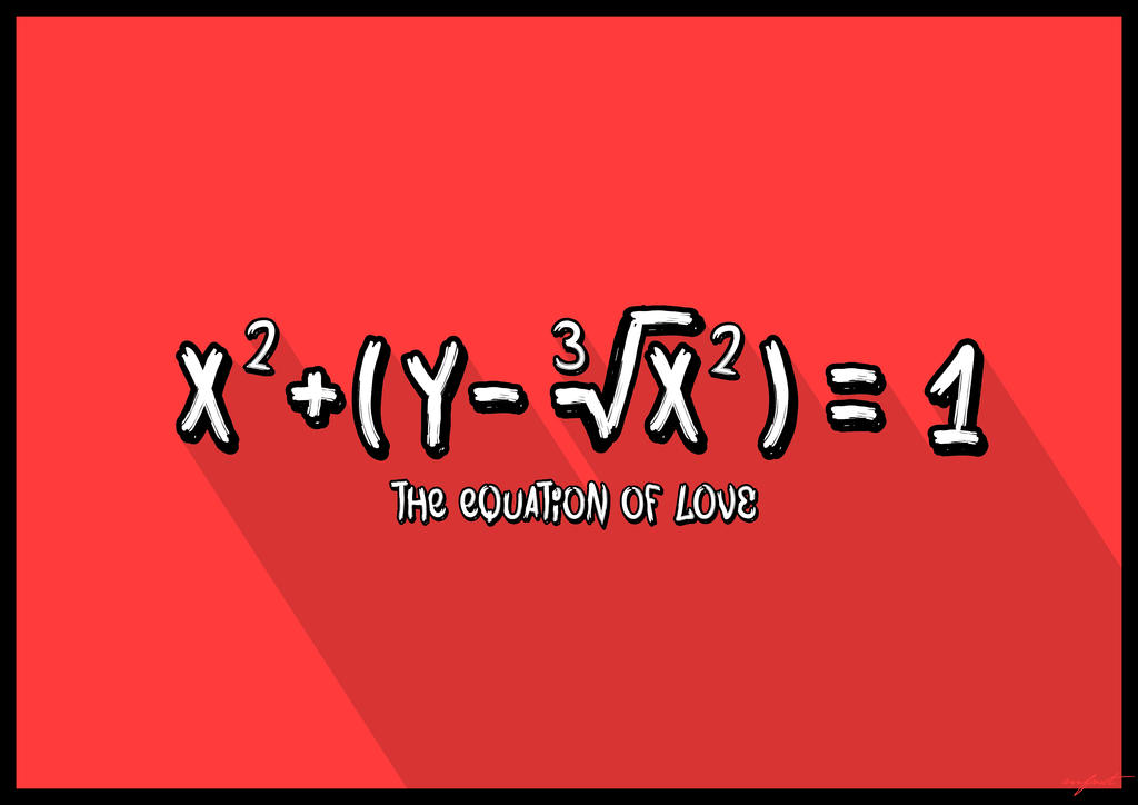 Mfnst Iloveyou Equation Of Love Digital Art by mfnst on ...