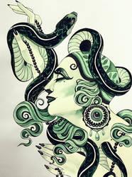 Snake by LazzzyV