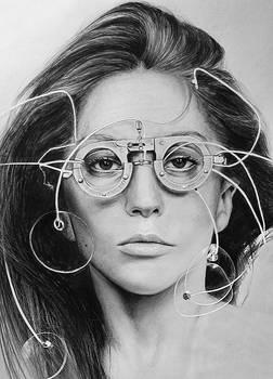 Lady Gaga by LazzzyV