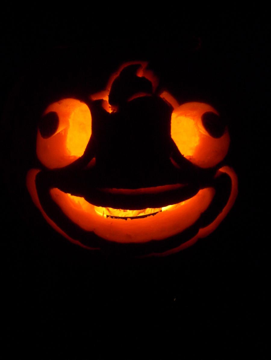 Fester fish pumpkin by camgaloo on deviantart