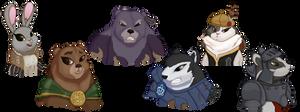 Six Heroes