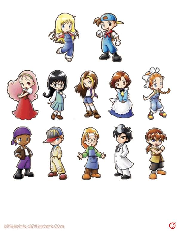 Harvest Moon: Boy & Girl Boy Walkthrough for PSP by
