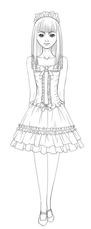 Lolita Lineart