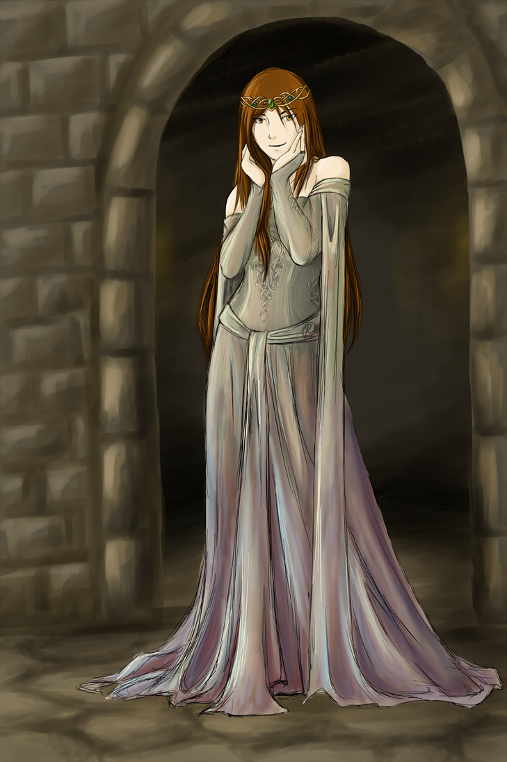 Okami in a dress by Rakkasah