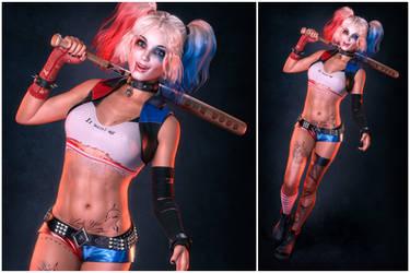 Hayley - Harleyquinn 01 by thegeb