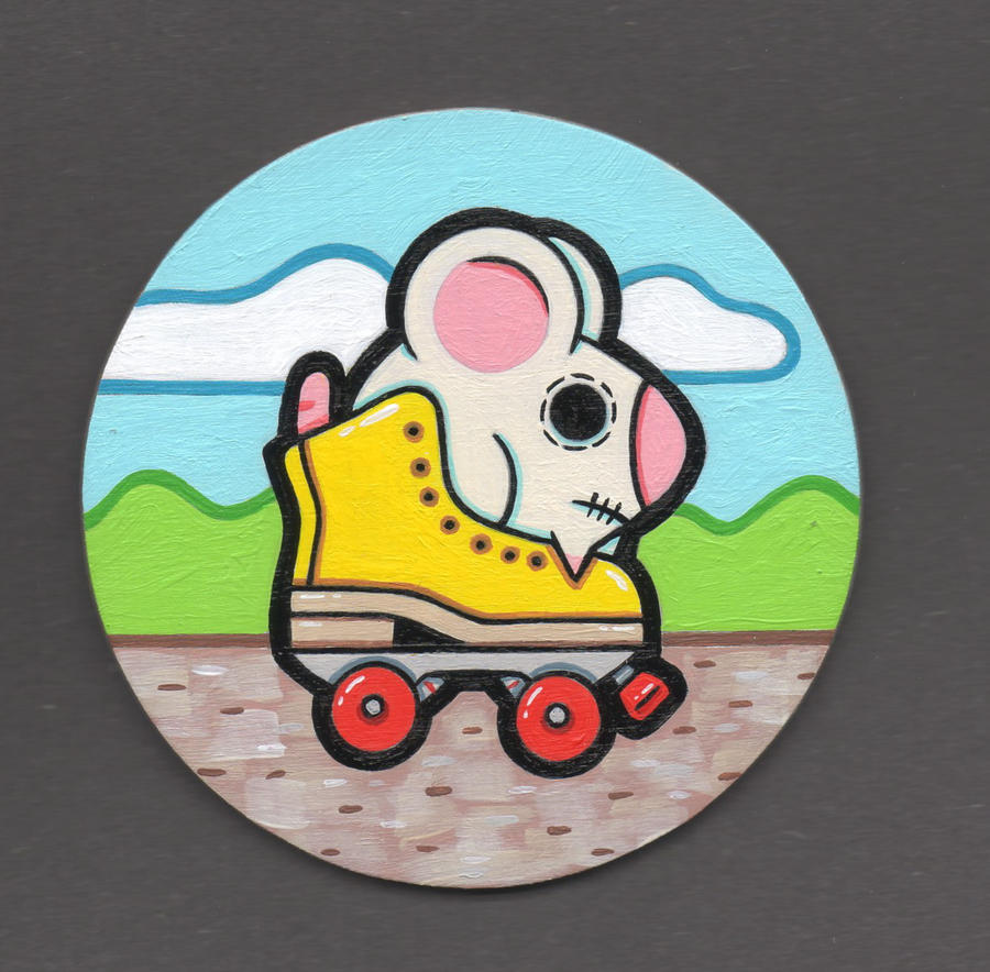 roller rat by ratt136