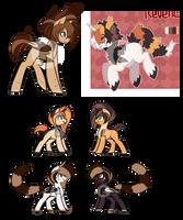 Ruffles Breeding Adopts - OTA Adopts {0/4} by curledcreations