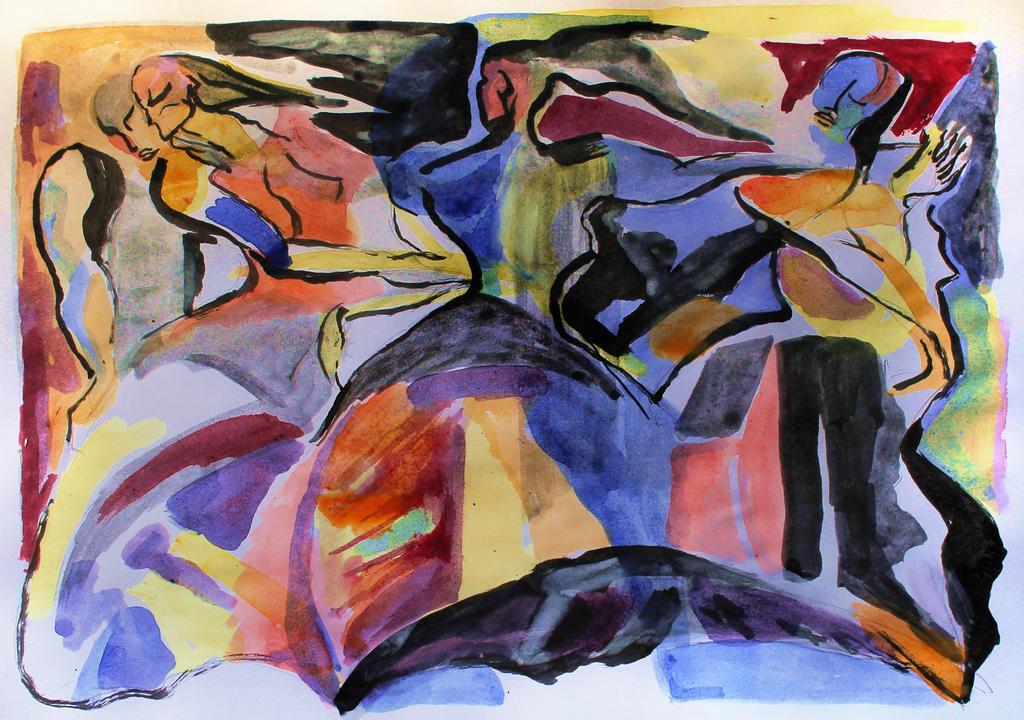 romantic dance - draft by creapicform