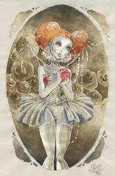 The Wirewalker's Heart by tanuki-chan