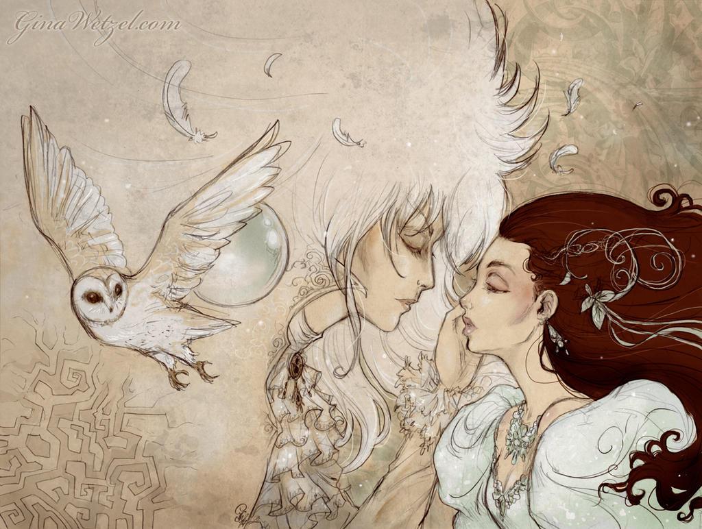 As the world falls down (Labyrinth fanart) by tanuki-chan