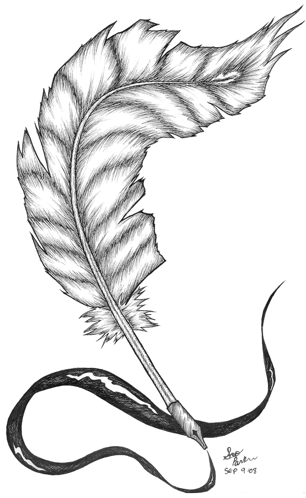 Quill Tattoo by SaoriKiorimi on DeviantArt