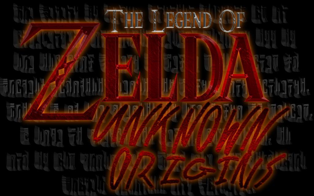 NEW Zelda Unknown Origins Logo by ScootWHOOKOS
