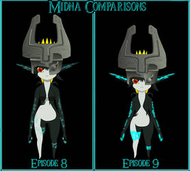 NEW Midna Comparisons by ScootWHOOKOS