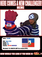 HERE COMES A NEW HAITIAN--p.2 by CE-Rap